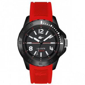 Lacoste klokkerem LC-75-1-29-2467 / 2010737 / 22mm Gummi Rød 22mm