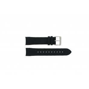 Hugo Boss klokkerem HB-232-1-27-2731 / HB1513087 Lær Svart 22mm + søm svart
