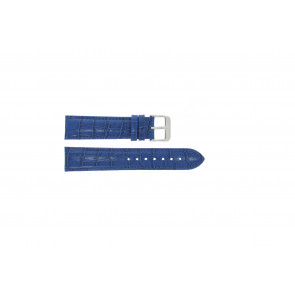Klokkerem Universell 285R.05 Lær Blå 18mm