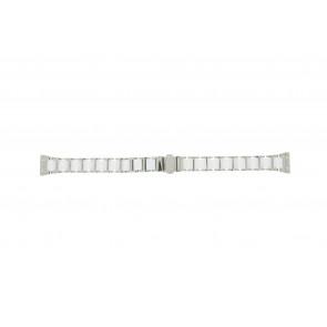 Boccia klokkerem 3261-01 Stål/Silikon Sølv 16mm