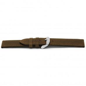 Klokkerem D329 Lær Brun 14mm + standard sømmer