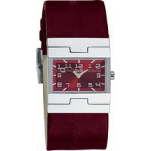 Klokkerem Dolce & Gabbana 3719251493 Lær Bordeaux 25mm