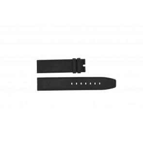 Boccia klokkerem 3780-01 Lær Svart 20mm + standard sømmer