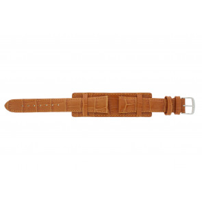 Klokkerem 61325.75.18 Lær Oransje 18mm + søm orange