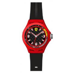 Klokkerem Ferrari SF-01-1-47-0005 / 689300004 Silikon Svart