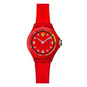 Klokkerem Ferrari SF-01-1-47-0005 / 689300005 Silikon Rød