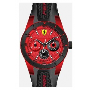 Klokkerem Ferrari SF-28-1-44-0189 / 689300186 Silikon Svart