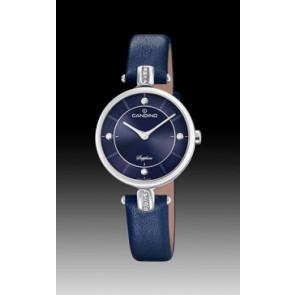 Klokkerem Candino C4658-3 Lær Blå