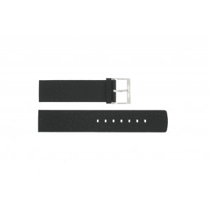 Klokkerem Calvin Klein CK75-W08S Lær Svart 20mm