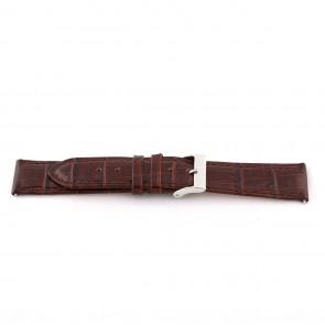 Klokkerem D341 Lær Brun 14mm + søm brun