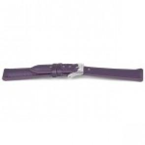 Klokkerem Prisma CS185 Lær Purple 14mm