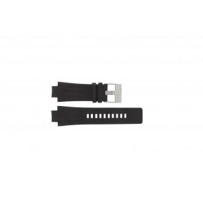 Klokkerem Diesel DZ4128 Lær Brun mørk 16mm