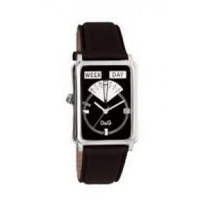 Klokkerem Dolce & Gabbana DW0122 Lær Svart