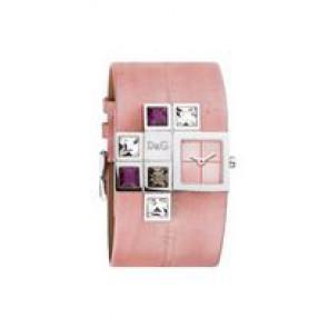 Klokkerem Dolce & Gabbana DW0176 Lær Rosa