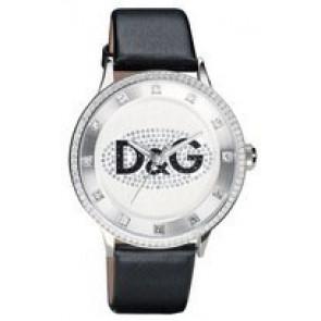Klokkerem Dolce & Gabbana DW0507 Lær Svart