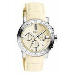Klokkerem Dolce & Gabbana DW0678 Lær Beige 22mm