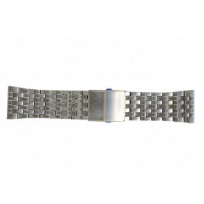 Diesel klokkerem DZ7221 Metall Sølv 28mm