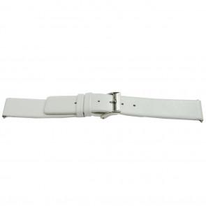 klokkerem lær hvit 26mm EX-J510