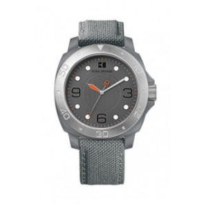 Klokkerem Hugo Boss HB-142-1-29-2395 / HO1512666 Tekstil Grå 22mm