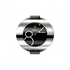 Klokkerem Calvin Klein K600035806 / K3723702 Lær Svart 16mm