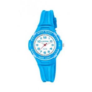 Klokkerem Calypso K6070-3 Gummi Blå