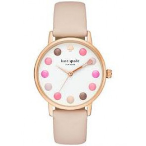 Klokkerem Kate Spade New York KSW1253 Lær Beige 16mm