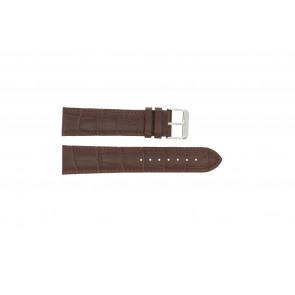 Klokkerem 305.02.20 XL Lær Brun 20mm + søm brun
