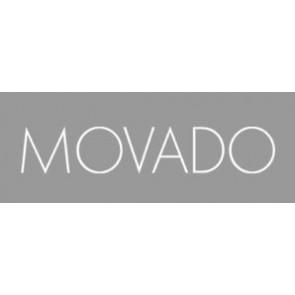 Klokkerem Movado 84.G4.875.3801676 / CAL-18/14-WHI / Loc VIM-81 Lær Kremhvit / Beige 15mm