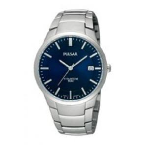 Klokkerem Pulsar VJ42 X021 / PS9009X1 / PS9011X1 / PS9013X1 / PH280X Titan Grå