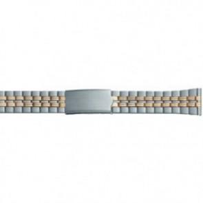 gullfarget stretch klokkerem som passer alle dameklokker i størrelse 10 mm til 14 mm EC611