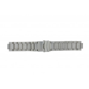 Q&Q klokkerem QQ13ST-ZI-ST Metall Sølv 13mm
