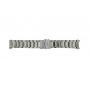 Klokkerem QQ22STROU Metall Sølv 22mm