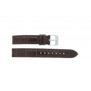 Lorus klokkerem V501 X292 / RRS73UX-9 / V501- X29201A Lær Brun 14mm + standard sømmer