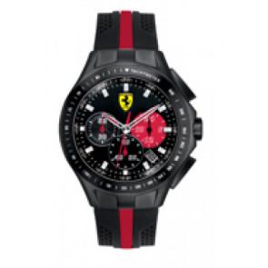Klokkerem Ferrari SF-03-1-34-0015 / 689300022 Silikon Svart 22mm