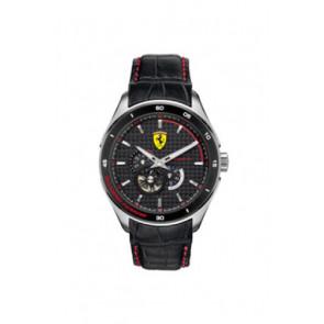 Klokkerem Ferrari SF-11-1-34-0043 / 689300062 Lær Svart