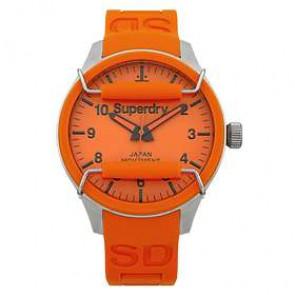 Klokkerem Superdry SYG109OG Silikon Oransje