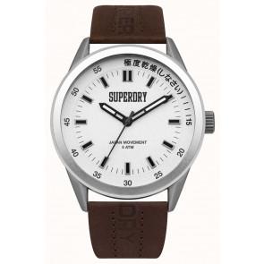 Klokkerem Superdry SYG207TS / 222793 Lær Brun