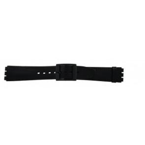 Klokkerem Swatch (alt.) SC15.01 Lær Svart 16mm