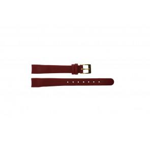 Klokkerem Obaku V130 Lær Rød 12mm