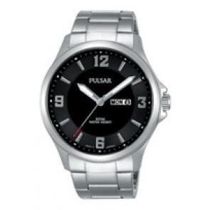 Klokkerem Pulsar VJ33-X024-PJ6079X1 Stål Stål 22mm
