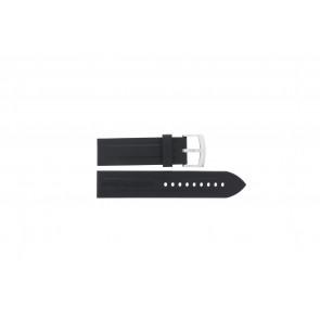 Klokkerem Armani AR0527 Vanille / AR5826 Silikon Svart 23mm