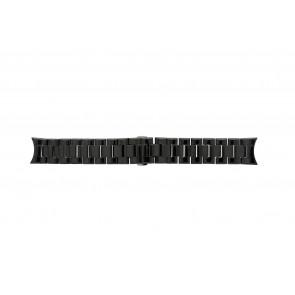 Klokkerem Armani AR1400 / AR1401 Keramikk Svart 22mm