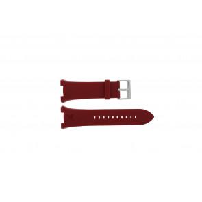 Armani klokkerem AX-1040 Silikon Rød 14mm