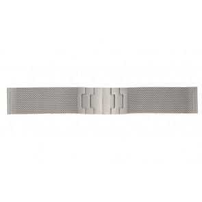 Mondaine klokkerem BM20031 / 12622.ST.2 Metall Sølv 22mm