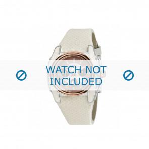 Breil klokkerem BW0383 / F260053231 / BW0384 Lær Hvit 25mm
