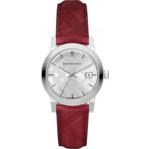 Klokkerem Burberry bu9152 Lær Rød