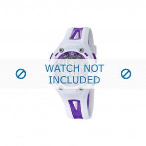 Calypso klokkerem K5666-2 Plast Purple 21mm