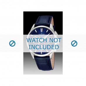 Candino klokkerem C4517-3 Lær Blå + søm blå