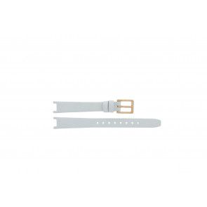 DKNY klokkerem NY8784 Lær Hvit 13mm + standard sømmer