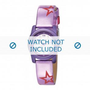 Esprit klokkerem ES000FA4-40PA / 000FA4038 / 000FA4 Lær Purple